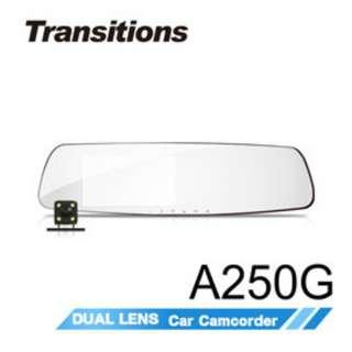 🚚 全視線A250G 1296P HDR高清畫質 GPS測速型行車記錄器