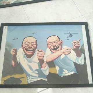 RARE.  World renowned chinese painting