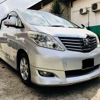 Toyota Alphard 2.4V (Japan Spec)(Otr Price)