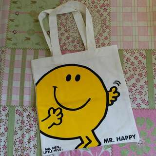 Mr. Men and Little Miss X FortressTote Bag 側揹布袋