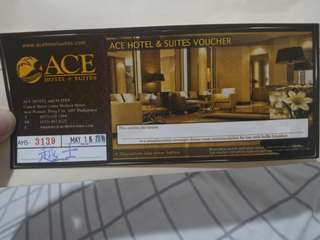 Ace Water Spa voucher overnight vacation staycation New Year couple treat