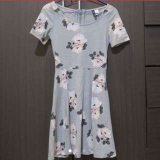 'H&M' Floral Dress