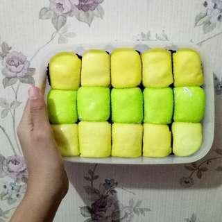 Pancake Durian Pandan Isi 15