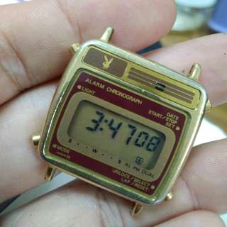 Vintage Playboy digital watch