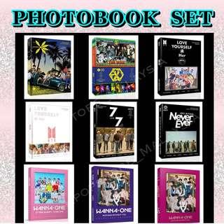 PHOTOBOOK BTS | EXO | GOT7 | WANNA ONE -- (Unofficial)