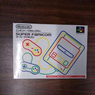 九成新 任天堂 迷你超任 Nintendo 日版 Super Famicom 有保養 齊配件