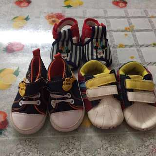 Baby Shoes (RM10 per 3 pairs)