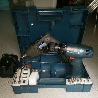 Bosch & black n decker automotive heavy duty drills(no battery)