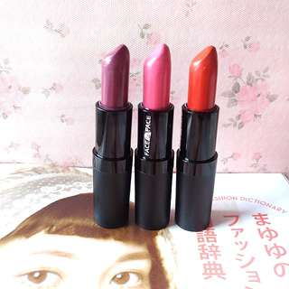 Face 2 Face Lipstick Set