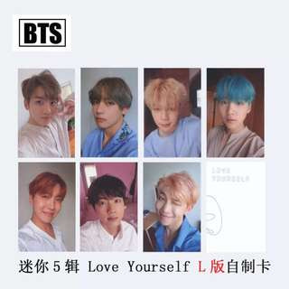 BTS Love Yourself PC Cards