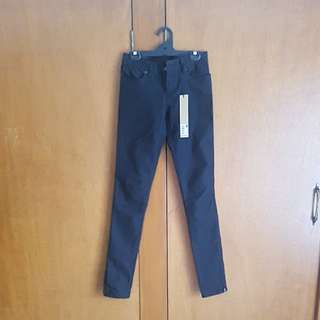 Ksubi supper skinny jeans black size 25
