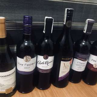 Red Wines sold as srt