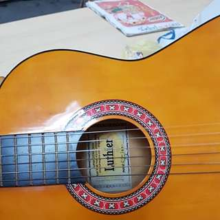Luthier classical guitar