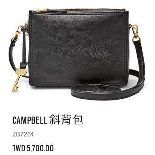 fossil campbell 女包全新