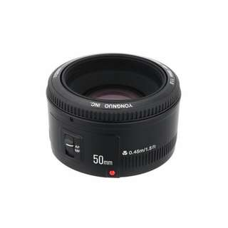 YongNuo YN50mm F1.8 AF Lens For Canon