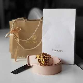 Authentic Versace Medusa Buckle Belt