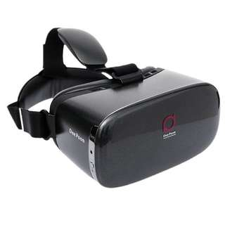 DeePoon E2 Virtual Reality Display Glasses VR Video Game Glasses 1080P AMOLED Display Screen Head-Mounted with HDMI Cable for Computer Notebook