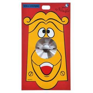 Japan Disneystore Disney Store Doorknob ALICE PARTY Wall Sticker Preorder