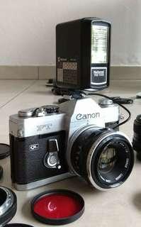 Canon FTQL 1964 set