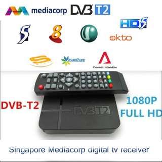 Dvbt2 Dvb-T2 HD Set Top Box Watch Singapore HD Channel TV Recorder For Singapore Digital Signal Record Channel 8 U Okto Vasantham No Need Digital Ready Tv mini