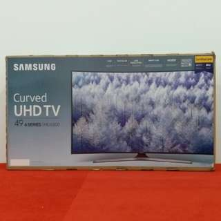 """New SAMSUNG 49"""" SMART Curved 4K UHD TV (1 Month old) 5 Years Warranty until 2022"""
