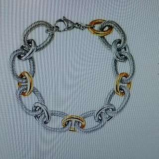 Stainless Steel Eternal Linked Bracelet