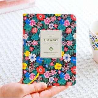 Ardium Flowery Daily Planner 2018