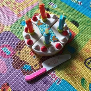 Preloved ELC birthday cake