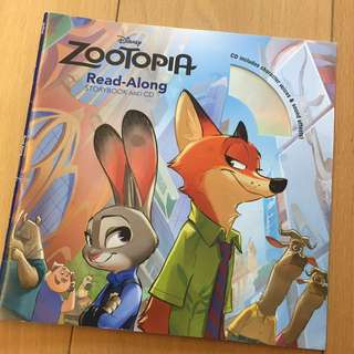 Zootopia (with read-along CD)