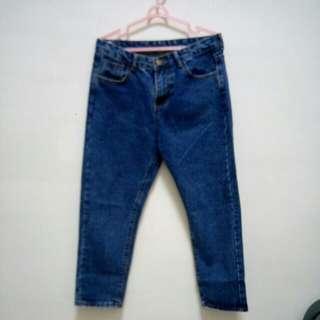 🚚 二手寬鬆牛仔褲#舊愛換新歡#有超取最好買#好想找到對的人