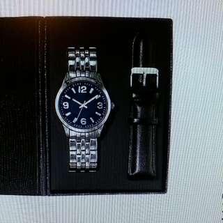 Men's Interchangeable Strap Watch