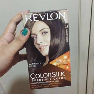 Revlon Color Silk Hair Color (Dark Soft Brown)