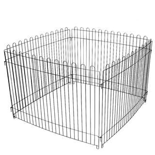 Play Pen for Dogs/Cats (Black Color)