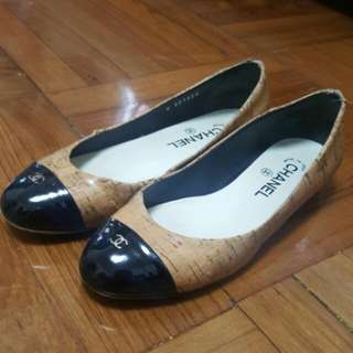 Chanel flats size 38