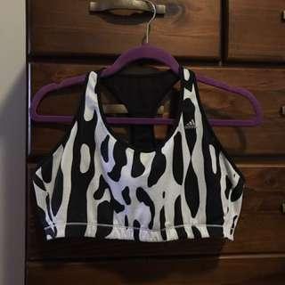 Adidas size XL sports bra