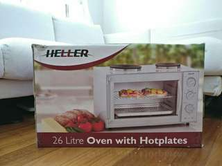 Heller 26L Electrical Oven with Hotplates OVH6672