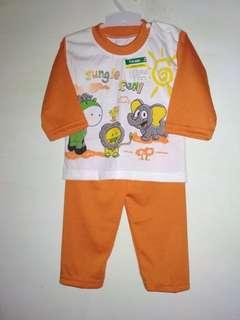 Baju stelan anak 1-2thn