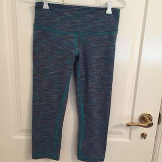 Lululemon 3/4 Leggings Size 8-10 AUS