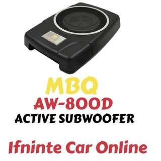 MBQ AW-800D ACTIVE SUBWOOFER