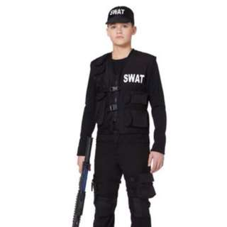 Kids XL Swat costume.