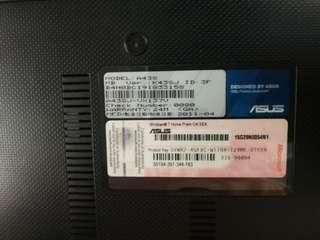 Asus A43S laptop