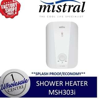 MISTRAL MSH303i INSTANT SHOWER HEATER