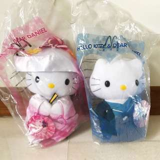 Hello Kitty Dear Daniel McDonalds Japanese Wedding Dolls