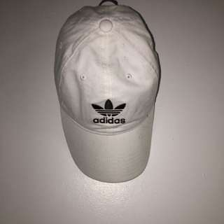 Adidas White Baseball Cap New