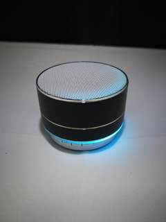 [In Stock] Mini Wireless Bluetooth Speaker with Changing Colour Lights