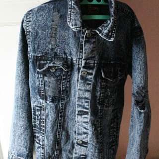 Jaket denim Thanksomnia