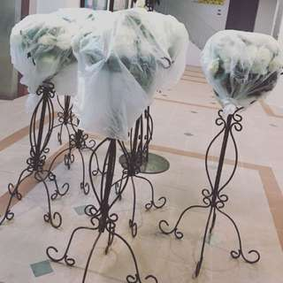 Flower Stands for Pelamin & Wedding Decorations