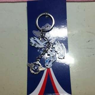 松指部鑰匙圈 飛機鑰匙圈
