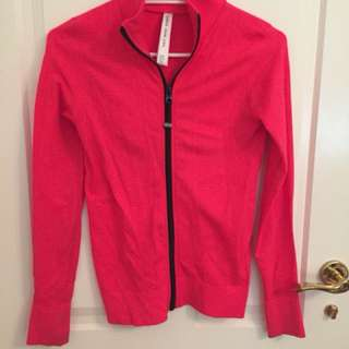Lorna Jane Hot Pink Jacket Size XS/S