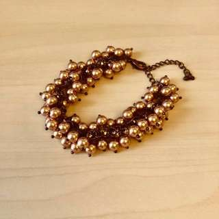 Vintage style Bracelet in Bronze